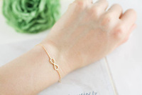 Cheap price trendy jewelry lover infinity bracelet charm for women's wholesale (can mix different color) one direction