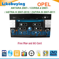 2 Din Car DVD GPS for OPEL ANTARA / CORSA D / ASTRA H 2007-2010 / ZAFIRA B 2007-2011 with RDS Radio Blutooth FREE MAP and Card