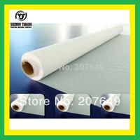 TJ Color:White,100Mesh(40T) polyester Silk screen printing mesh(width=1.27meter) 1 meter