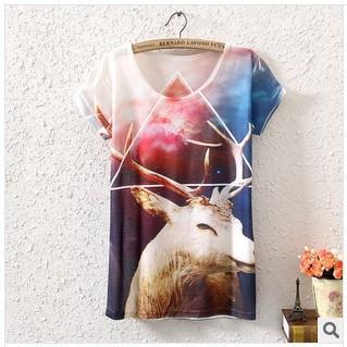 Женская футболка wimen t , 3 d , 100% , t женская футболка hic t hic 9153