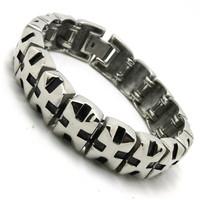 BC0283 Fashion Top Quality Polishing Unisex Bracelet  316 Stainless Steel Hot Sale Wholesale Cool Bracelet