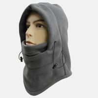YINYE multi function thick warm fleece velvet CS winter outdoor cap cold resist ski and riding helmet in snow  hat