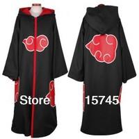 Naruto Akatsuki cosplay costumes - Akatsuki Cloak Free shipping