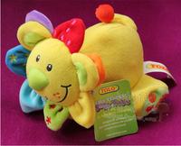 Many vocalization tolo cartoon animal cloth dolls small lion doll plush toy