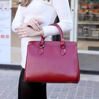 Women's handbag bag 2014 casual big bag fashion genuine leather handbag women's fashion vintage handbag
