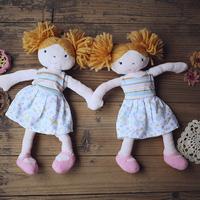 Skirt explosion head doll infant plush toy doll
