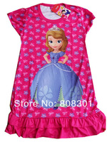 Baby girl leisure dress dress children dress is 3535353