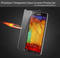 Wholesale 10pcs/lot 2.5D Premium Tempered Glass Screen Protectors for Phones Samsung Galaxy Note 3 Note3 N9000