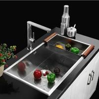 8045L  304grade stainless steel single bowl UNDERMOUNT Kitchen Sink