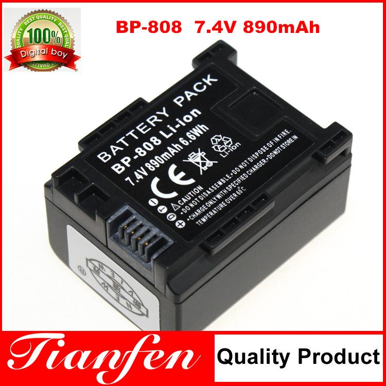 Аккумулятор для фотокамеры Tianfen 1 808Camera BP BP/809 BP/808 FS10 FS100 FS11 FS22 FS21 FS200 FS11 890MAH BP-808
