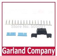 Free shipping OBD2 16Pin Female Connector OBD-II Female Plug OBD2 16 PIN Female Adapter Connector