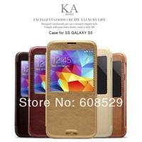 Original Kalaideng KA Series Intelligent Sleep Flip Leather Stand Case For Samsung Galaxy S5 i9600 SV G900,MOQ1pcs,free shipping