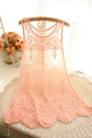 new 2014  hook bud mesh bikini blouse hollow yarn strap Lace Blouse Sleeveless European American Sexy Tank Tops Blouses
