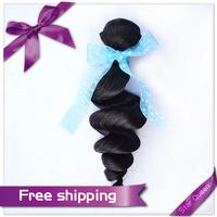 6A unprocessed Peruvian virgin hair extension 3 bundles lot Peruvian Loose Wave 100% Unprocessed human hair Weave Wavy No Tangle
