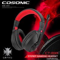 New arrival cosonic jahe ct-833 computer game earphones headset earphones