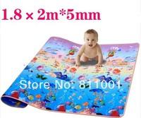 Promotion  Sping 2014 New  Baby  Play  Mat  Kids Play Mats 2*1.8  Ocean  Beach  Picnic  Baby Carpet  Baby  Crawling EVA  Mat