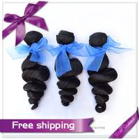 Mongolian virgin hair loose curly Hair Bundles 3/4 pcs lot 5A Landot hair extensions 100% unprocessed human hair weaves wavy