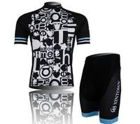New!!!2014 men's short sleeves sportswear bike Bicycle Cycling riding clothing wear jersey + bids shorts Wholesale CJ015