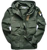Men's 101th airborne division wind-resistant jacket, coat