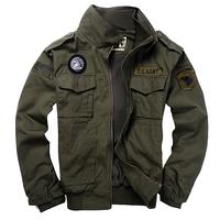Outdoor camping clothing 101 flight jacket green single jacket Men casual jacket