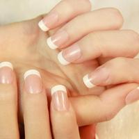 NEW 2014 High Quality french False Nails,elegant OL natural short full cover Fake Nail,acrylic Nail Tips,24 pcs,drop shipping