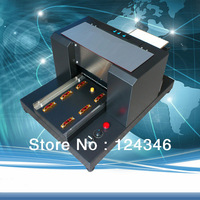 WorldBest Non Coating A4 Size 6 Color Flatbed Printer For Phone Cover Printing Multifunction Printer No Need Coating For Plastic