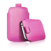 1pcs  bulk novelty new pu Leather PU Pouch Case Bag for tooky t86 Cover with Pull Out Function phone cases