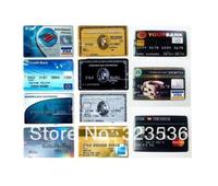 Hot sale!! FreeShipping !   New 1G/4GB/8GB/16GB/32GB Fashion Bank/Credit/usb 2.0 memory flash stick Pen Drive