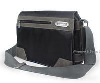 MULTIFUNCTION Men's BLACK Waterproof School Shoulder Messenger Bag A4 BOOKS_96A