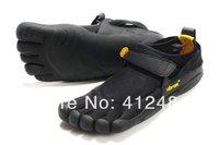 Mans manSports Five Fingers Light Shoes Kso Toes Socks Newest unit design GB BLACK