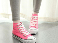 Factory price Free Shipping Fashion Women's Up Casual Breathable Sneakers Wtih Ice Cream Candy Color Canvas shoes