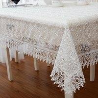 Fresh glass yarn embroidery tablecloth fashion dining table cloth rustic lace table cloth table cloth 60*60cm 85*85cm 110*110cm