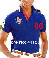 New Fashion  Men poloshirts 2014 Summer t-shirt  Mens brand blouse Man Sport shirts Free Shipping size M-XXL