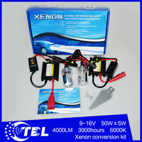 FREE SHIPPING 55W HID KIT Slim Ballast Ignition H7 H1 H3 H4 H11 H13 9004 9005 9006 9007 880 881 H8 H10 HID Xenon Conversion Kit