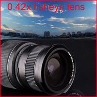 52mm 0.42X Super Wide Angle Fisheye Lens with Macro Lens for D5100 D5200 D3100 D3200 D90 D7000 D50 D60 D3X