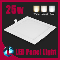 25W CREE Dimmable LED Recessed Square  Ceiling Panel Down Lights Bulb Lamp Warm/Cool White light home lighting