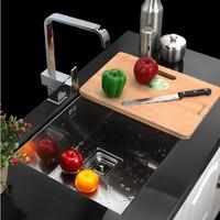 6543L  2014 Hot Saler 304grade stainless steel single bowl UNDERMOUNT Kitchen Sink