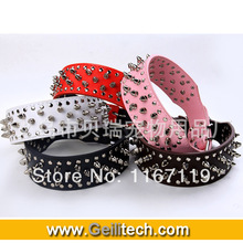 pink spike dog collar price