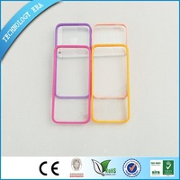 Freeshipping Back Clear Hard Coating Cover Case Mobile Phone Bags&Cases For iPhone 4 4s 5 Colors Dropshipping Wholesale TEP-3279