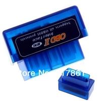 Free EMS shipping for Russia, Super Mini ELM327 v1.5 OBD2 Bluetooth Adapter  Mini ELM327