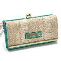 Kardashian kollection famous brand Kk wallet purse new 2014 women wallets card holder day clutch purses Black&Beige&Red&Green