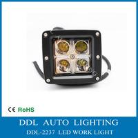 2013 New !! 12V/24V DC 16W LED work light , Led light for motor , boat , avt ,suv , atv