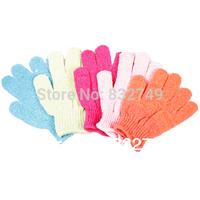 2Pcs Bath Glove Moisturizing Spa Skin Care Cloth Exfoliating Gloves Cloth Scrubber Face Body
