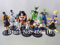 New arrival High quality Anime Dragon Ball Z PVC Action Figure Toys 10 styles/set Approximately 6-12 CM
