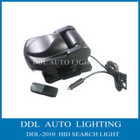 Free Shipping !!!! H3 55w  Black Color Material ABS 12V Hid Searching Light , HID Xenon work light