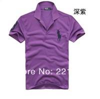 Men's shirts men's short sleeve summer dress tide lapel man short sleeve T-shirt male fashion T-shirt