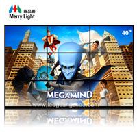 40inch LCD splicing screen HD super narrow 3X3 digital LCD vedio wall