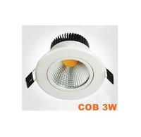 NEW!! High Quality Super Power LED Spotlight Ceiling Downlight COB light source 3W 5W 7W milky FREE SHIPPING