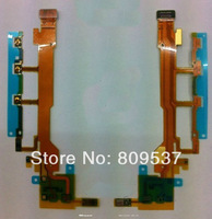 For Xperia Z C6603 L36h Side Buttons Keys (Power ON/OFF & Volume & Microphone) Flex Cable Ribbon