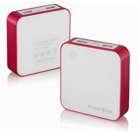 Outdoor 10000mAh 1% show mini cube external battery Emergency Portable backup power bank for iphone 5s smartphone digital camera